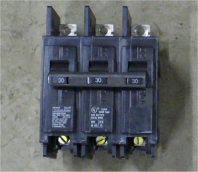 Siemens 30Amp ITE Mini Bolt-on 3-pole Circuit Breaker