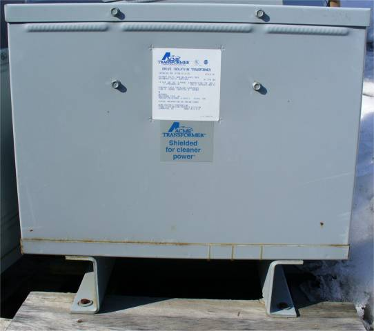 Click to see larger image - Acme Transformer 14KVA 3-Phase Dry Type Drive Isolation Transformer