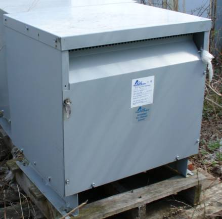 Click to see larger image - Acme Transformer 27KVA 3-Phase Dry Type Drive Isolation Transformer