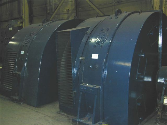 General Electric 1750KW DC Generator