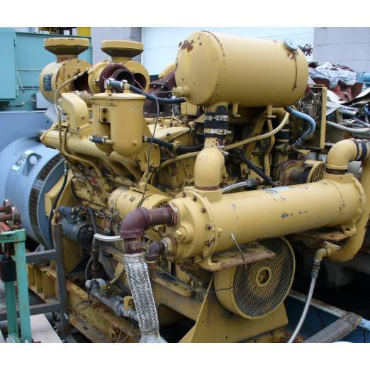 Click to see larger image - Marathon Electric - Cummins 300 KW Magna One AC Synchronous Generator and Diesel Engine