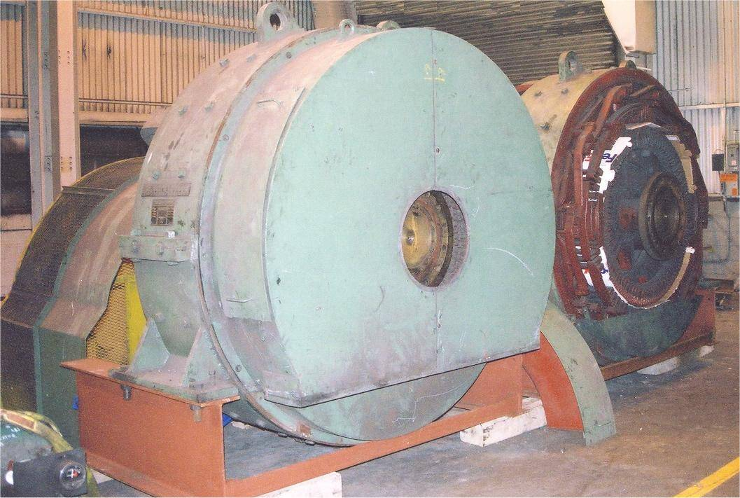 Westinghouse 2000KW DC Generator