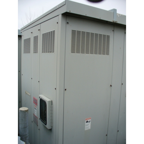 Asea Brown Boveri 3000 - 4000 KVA Cast Coil Dry Type Transformer