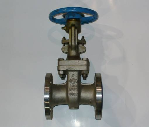 Click to see larger image - OIC 2 inch, 150 PSI, 316 Stainless Steel, Flanged Gate Valve