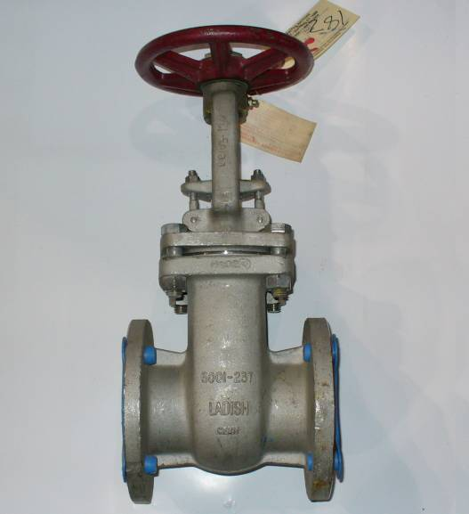 Ladish 3 inch, 150 PSI, 316 Stainless Steel, Flanged Gate Valve
