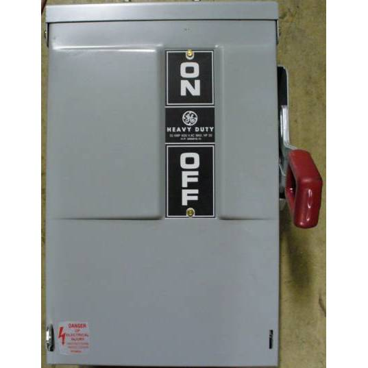 General Electric 30 Amp THN3361R Non-Fusible Safety Switch