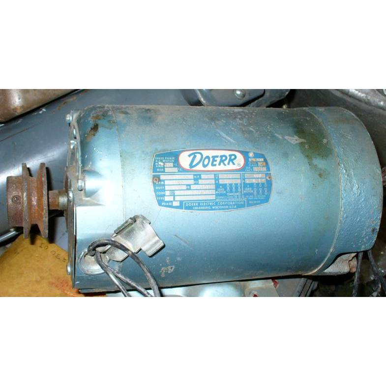 Doerr 3 HP 3500 RPM AC Induction Motor