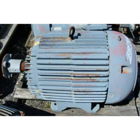 Siemens-Allis 75-19 HP 1770-880 RPM 2-Speed AC Induction Motor
