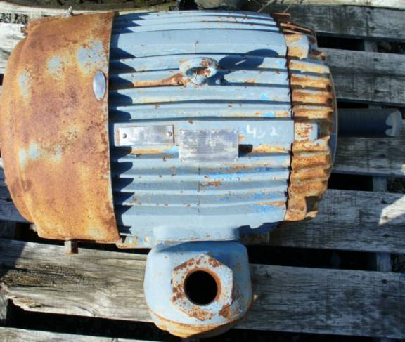 US Electrical Motors 60 HP 1770 RPM AC Induction Motor