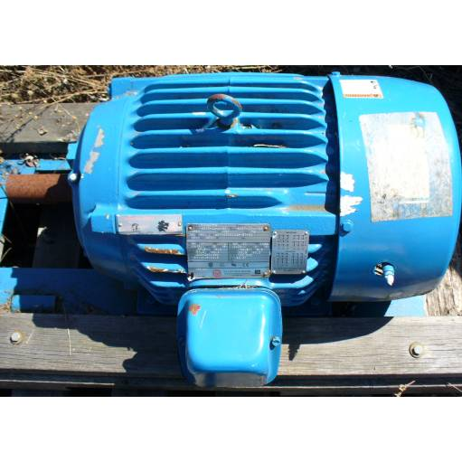 US Electrical Motors 20 HP 1455-1770 RPM 50-60 Hertz AC Induction Motor