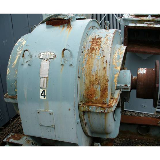 Electric Machinery 900 HP 900 RPM Electric AC Synchronous Electric Motor