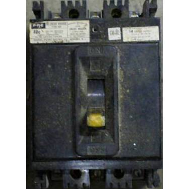 Federal Pacific 15 Amp 480 VAC Molded Case Circuit Breaker NEF433015