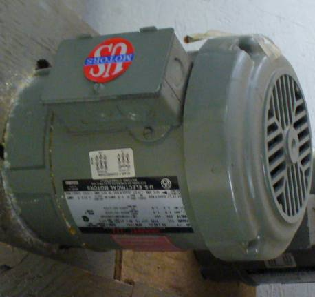 Click to see larger image - US Electrical Motors 0.75 HP 1750 RPM Unimount 125 AC Induction Motor