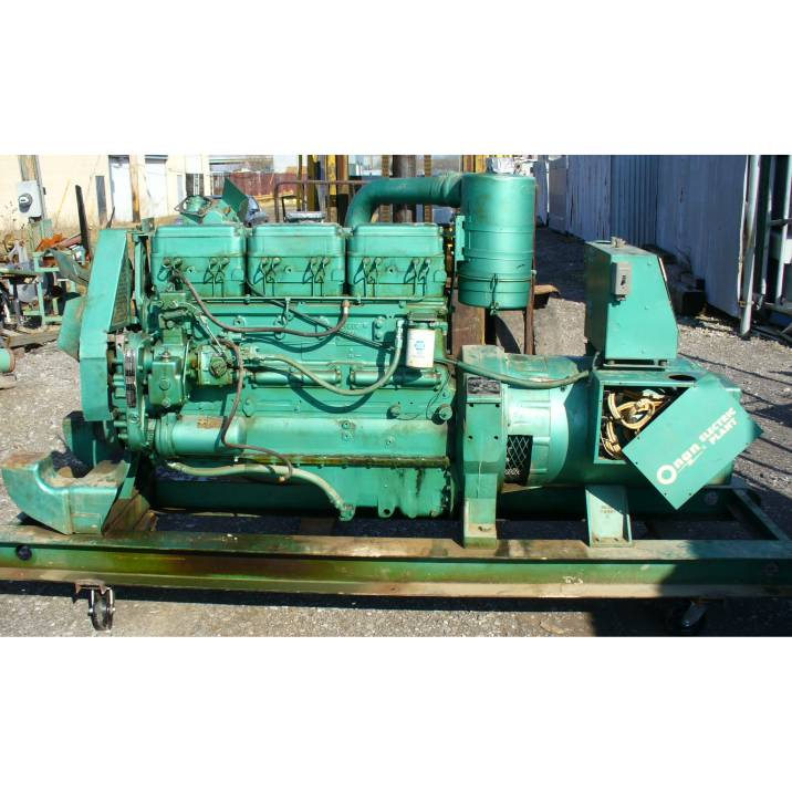 Click to see larger image - Cummins-Onan 75 KW Diesel Engine Generator