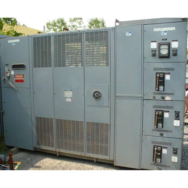 GTE Sylvania 500 KVA Dry Type Transformer with Switchgear