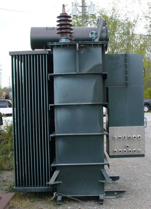 Click to see larger image - Foster 2000 KVA Substation Power Transformer