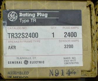 General Electric RMS-9 circuit breaker TR32S2400 Rating Plug