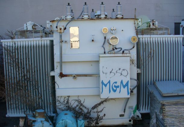 Westinghouse 5000 - 7000 KVA Type RSL Oil Insulated Substation Transformer