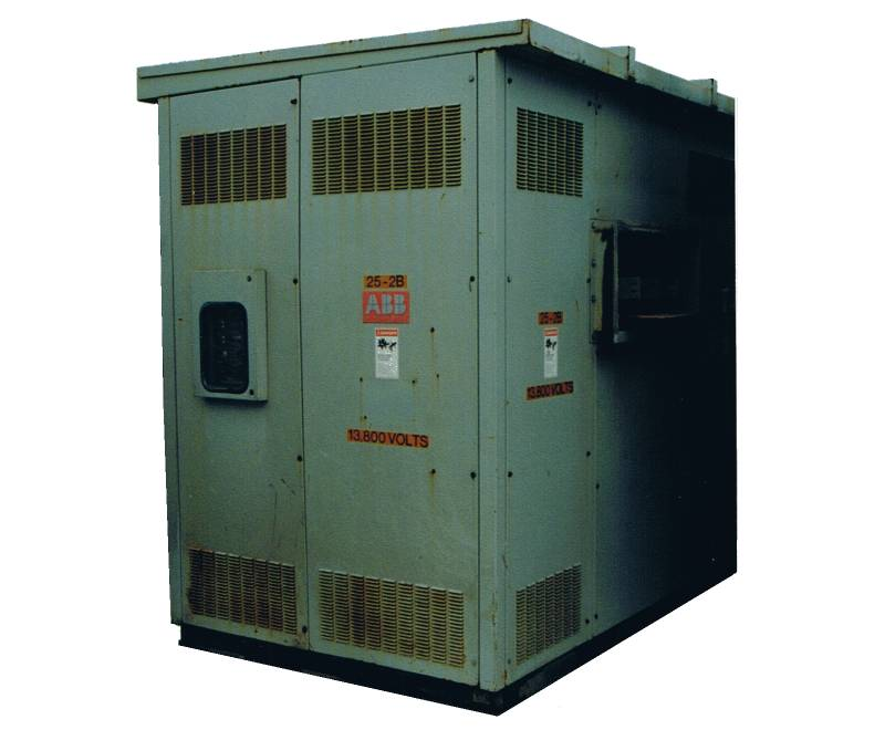 Asea Brown Boveri 1500KVA Cast Coil Dry Type Transformer