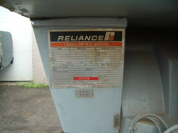 Click to see larger image - Reliance 1000 HP 1787 RPM Large AC Electric Motor