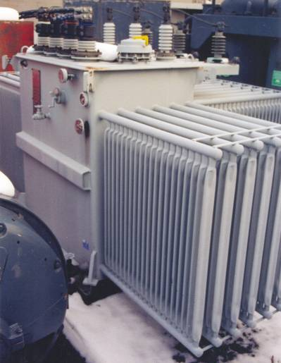 Asea Brown Boveri 3000 - 3750 KVA Oil Filled Substation Transformer