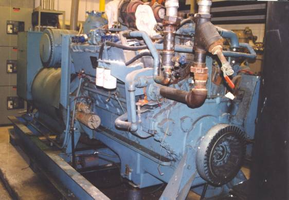 Cummins / Sentinel 462HP Natural Gas Engine and 330KW Brushless AC Packaged Generator