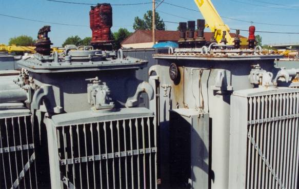 Click to see larger image - Westinghouse 2500KVA Substation Oil Filled Transformer