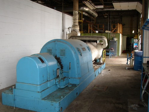 Worthington Steam Turbine Generator