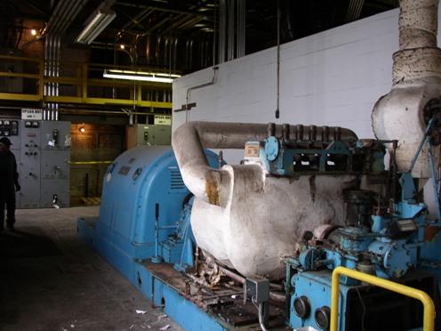 Click to see larger image - Worthington Steam Turbine Generator
