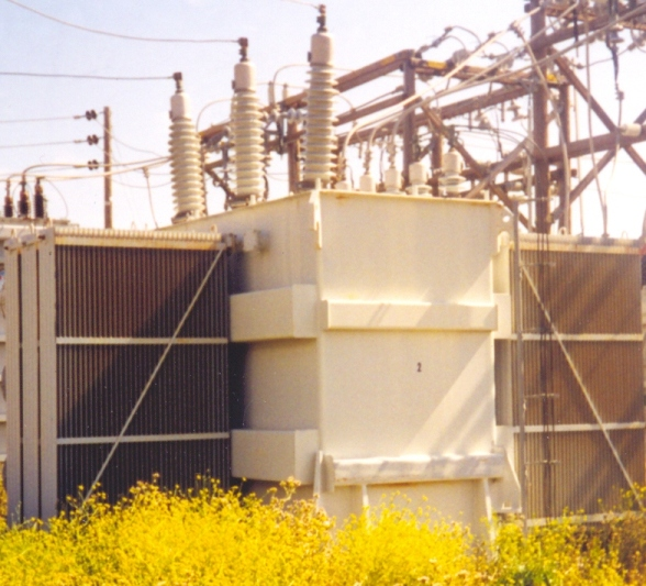 Westinghouse 22500 -  37500 KVA Type SL Power Substation Transformer
